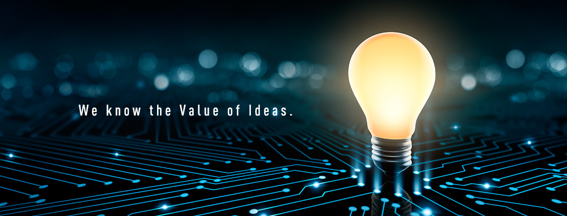 We know the Value of Ideas